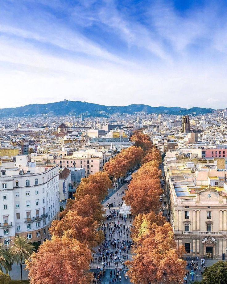 Autumn @ Las Ramblas, Barcelona