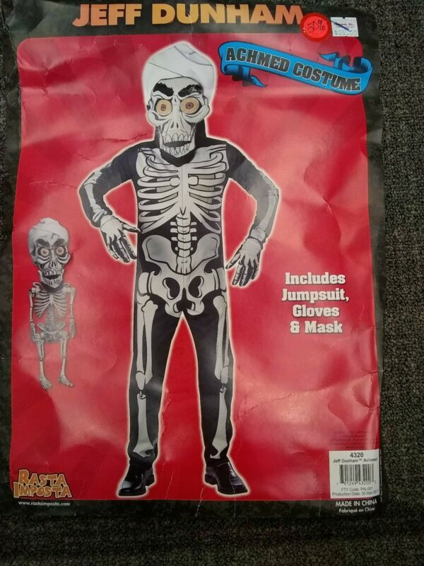 Jeff Dunham Halloween 2020 Jeff Dunham Achmed Costume. Includes Jumpsuit,Gloves,& Mask