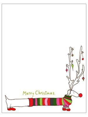 Bekijk de foto van ymalalala met als titel Kerst briefpapier, zo leuk....ff uitprinten! en andere inspirerende plaatjes op Welke.nl.
