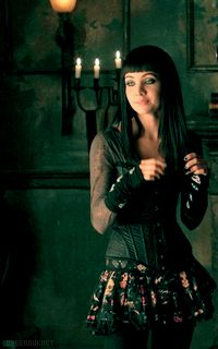 Inspiration for Haedyn (Ksenia Solo as Kenzi on the show LOST GIRL)