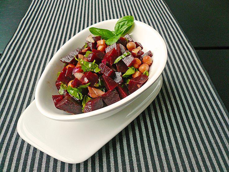 Rote Bete - Kichererbsen - Salat (Rezept mit Bild) | Chefkoch.de