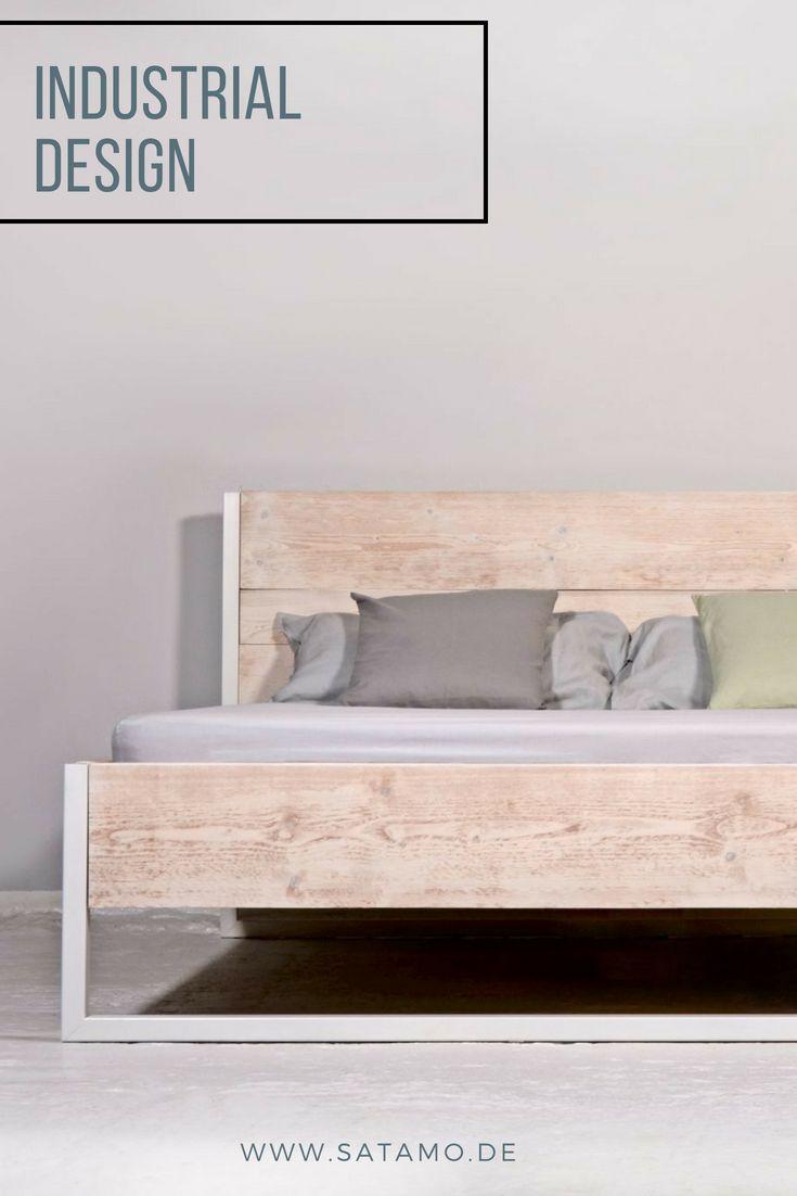 bett industrial design jetzt online entdecken in 2019 01. Black Bedroom Furniture Sets. Home Design Ideas