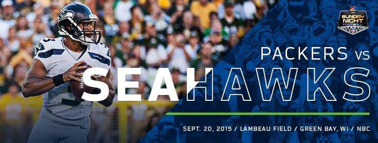 Packers vs Seahawks banner promo