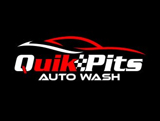 Overused logo designs SOLD - QiK Pits, Auto Wash Logo winner