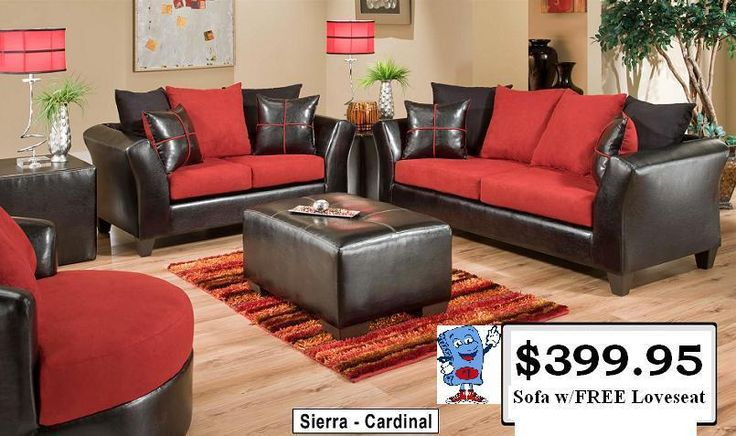 Sofa and FREE Loveseat or Two Piece Sectional  Your Choice for ONLY $399/95 Several Color Choices Available