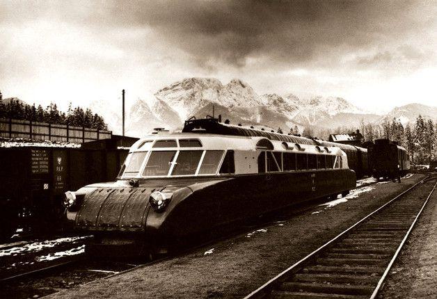 Luxtorpeda zwana torpedą podhalańską – koniec lat 30. XX w
