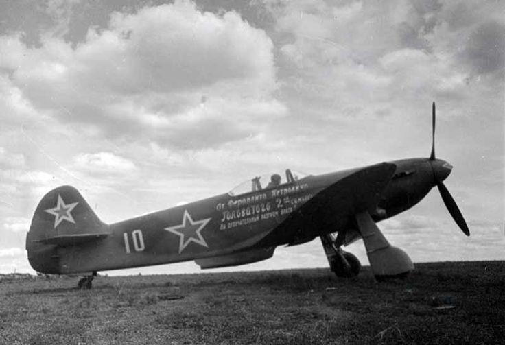 Soviet Aviation Album from WW2. I really enjoy vintage photography.