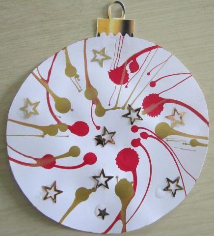 Boule de Noël - Noël - Galerie - Forums-enseignants-du-primaire