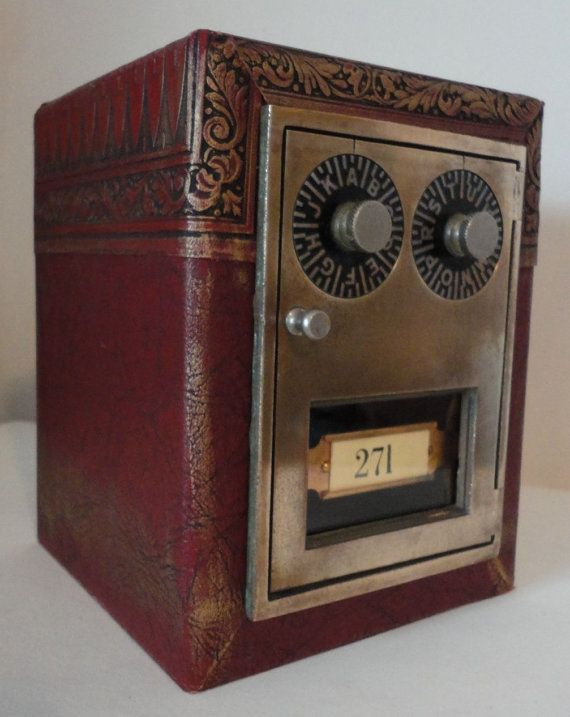 17 best images about lock boxes on pinterest antiques for Large piggy bank with lock