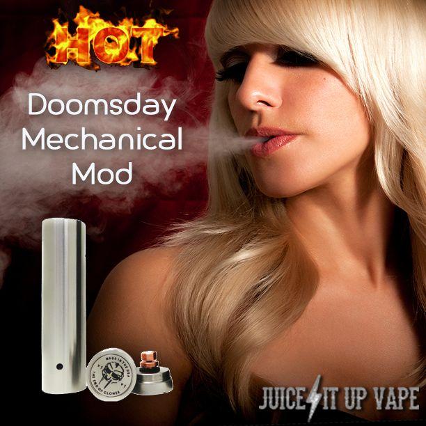 http://www.juiceitupvape.com Doomsday Mechanical Mods - Vape Life - Vaping Supplies
