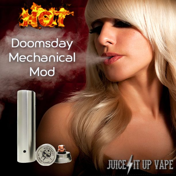 http://www.juiceitupvape.com Doomsday Mechanical Mods - Vape Life - Vaping Supplies