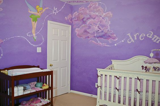 """Tinkerbell.  This would be perfect for Addison's room, but made more """"big girl"""""""