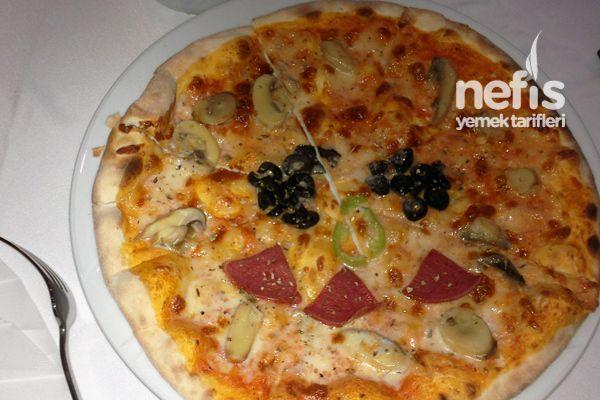 İnce Hamur İtalyan Pizza