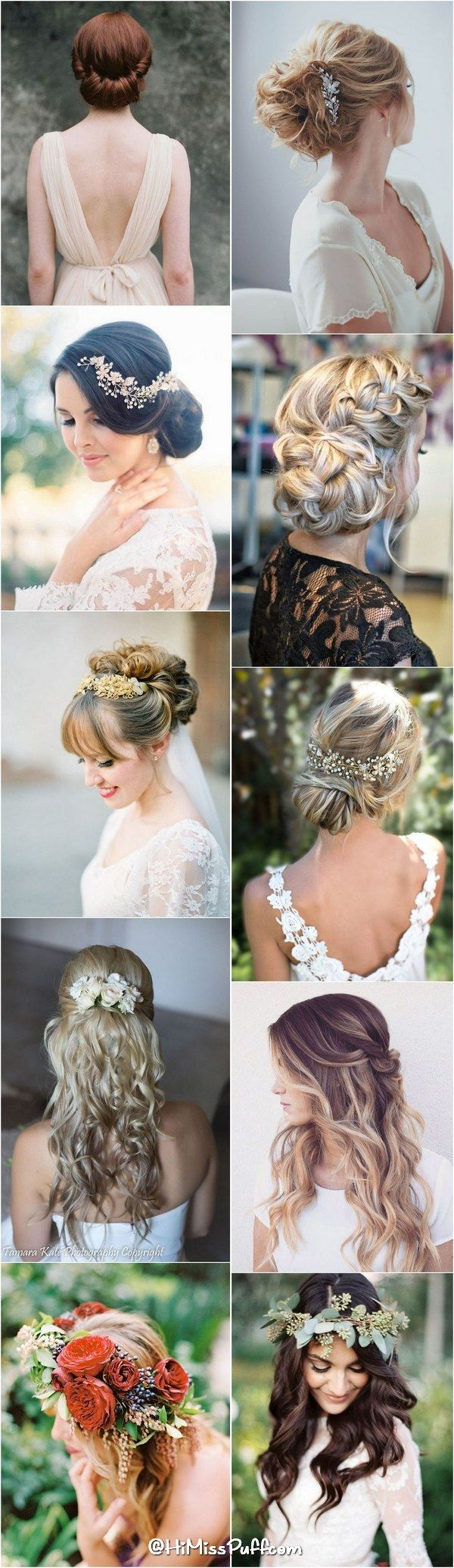 200 Bridal Wedding Hairstyles for Long Hair That Will Inspire / http://www.himisspuff.com/bridal-wedding-hairstyles-for-long-hair/