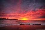 Red - another stunning sunrise over Sydney's eastern beaches, this one is Bronte ocean pool and is available to buy, just follow the link.