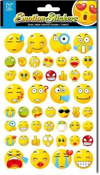 LKing Sticker Emotion (TRA1310V) - http://kids.bybrand.gr/lking-sticker-emotion-tra1310v/