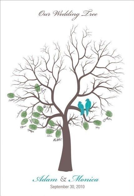 Wedding Tree Template | New Ideas