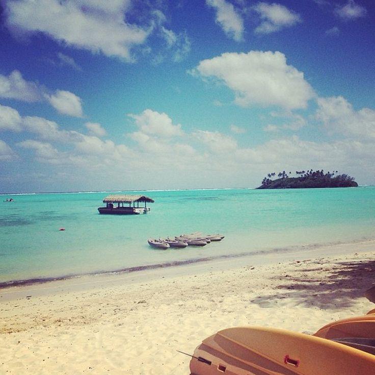 There is no place in #Rarotonga like Muri Beach