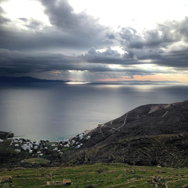 Wonderful Isternia. #Tinos #Cyclades #seaandsky #aftertherain