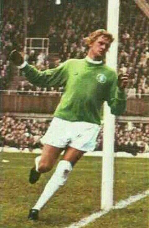 Gary Sprake of Leeds Utd in 1970.