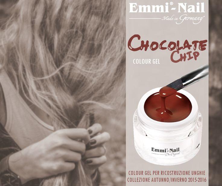 #ChocolateChip #ColourGel #EmmiNail per #ricostruzione #unghie