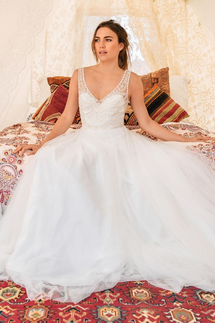Willowby wedding dresses  Willowby Doyle gown  The Blushing Bride boutique in Frisco Texas