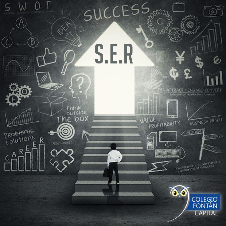 El estudiante, en el Sistema de Educación Relacional (S.E.R), es emprendedor.