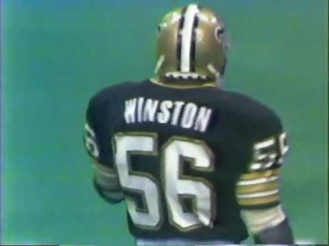 New Orleans Saints vs Dallas Cowboys 1984 1st Half MNF