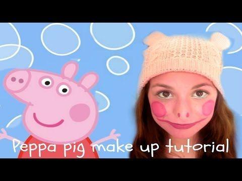 peppa pig makeup - Google Search