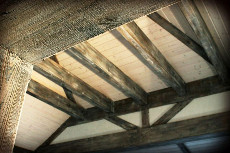 Old Painted beams,  www.drewnoikamien.pl