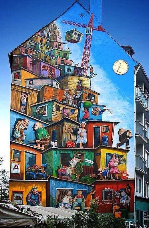 by Klaus Klinger, Germany, 2014 (LP) #streetart jd