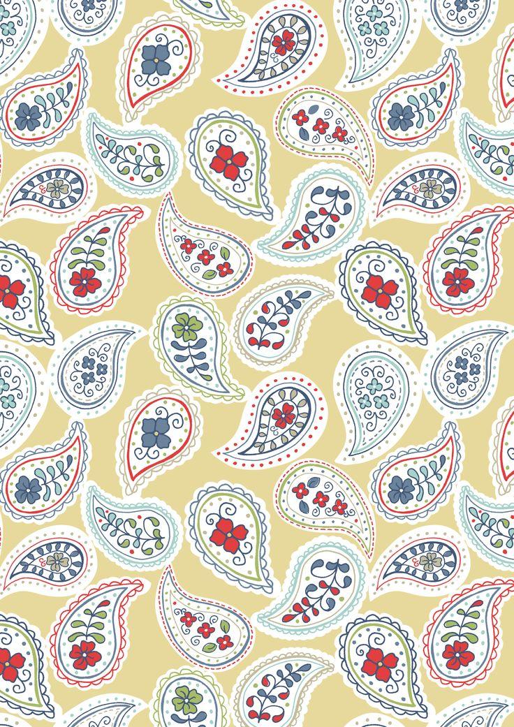 Lewis & Irene - 'Timsbury Lane' fabric www.lewisandirene.com