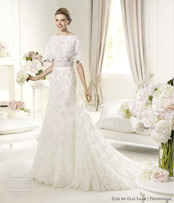 Margots by Elie Collection for Elie Saab for  Pronovias.
