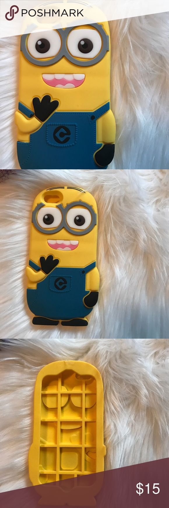 🌟JUST IN🌟Minion rubber case *Brand new *Adorable rubber Minion case for iPhone 6/6s Boutique Accessories Phone Cases