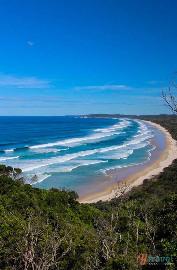 Tallows Beach, Byron Bay, NSW, Australia #beach #seaside #travel