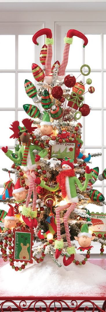 Fun Christmas tree for kids!: