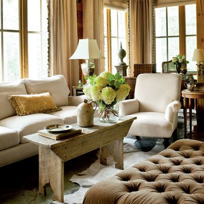 A New Take On The Classic Farmhouse. Coffee Table BenchDecorating Living  RoomsSouthern ...