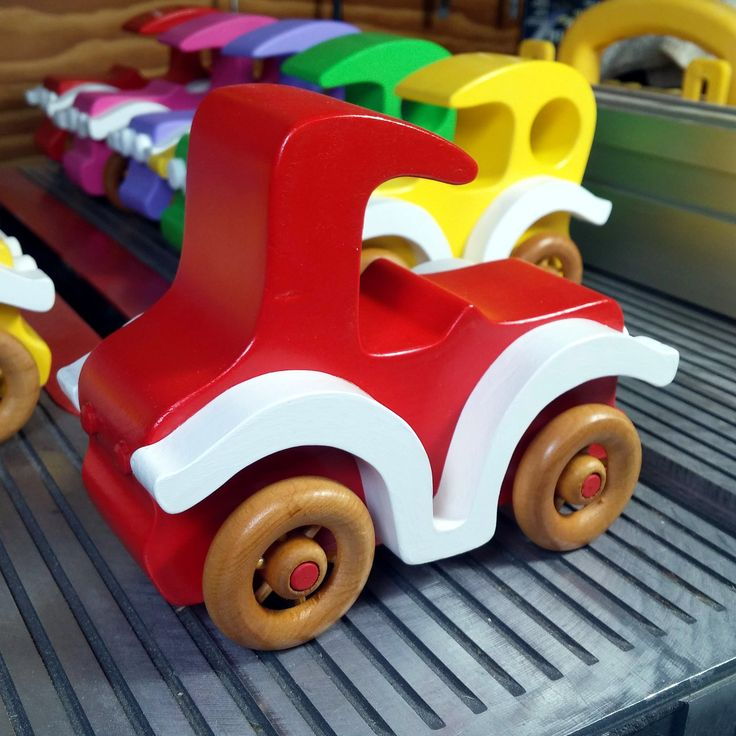 Handmade Wooden Toy Car, Old Fashioned Vintage Style from Bad Bob's Custom Motors Series 653317454