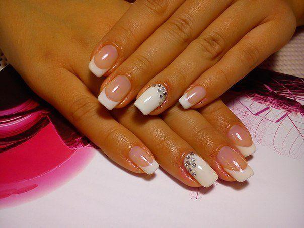 Beautiful nails 2016, Beautiful summer nails, Delicate wedding nails, Manicure…