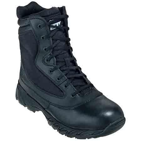 Original SWAT Men's Chase Black Side Zip Tactical Boots 1312