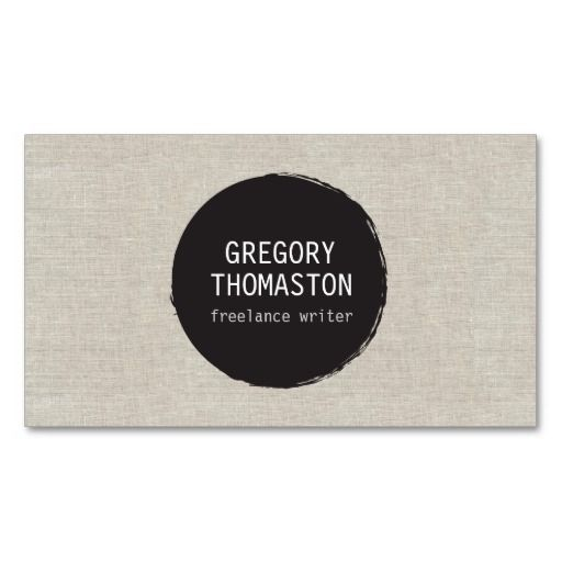 26 best artists and crafters business cards images on for Circle business card template