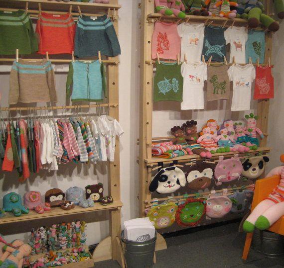 Craft show display stand shelf rack for craft fair for Clothing display ideas for craft shows