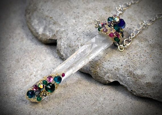 Hey, I found this really awesome Etsy listing at https://www.etsy.com/au/listing/531778407/quartz-shard-pendant-crystal-point