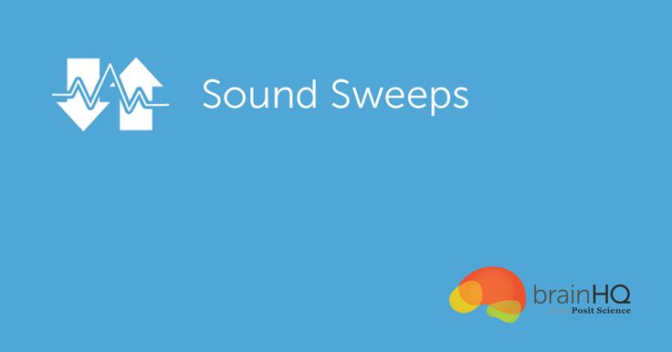 """Sound Sweeps is an auditory exercise designed to challenge your brain to speed up and sharpen listening accuracy. Only when the brain hears sounds quickly and clearly can it record them accurately. And only when it records them accurately can it recall (remember) them later. In Sound Sweeps, you have to listen to frequency sweeps—sounds that begin low and rise upward or begin high and fall downward—and identify whether they go up (""""weep"""") or down (""""woop"""")."""