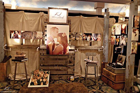 Wedding Expo Booth: Trade Show Inspiration: Almondleaf Studios