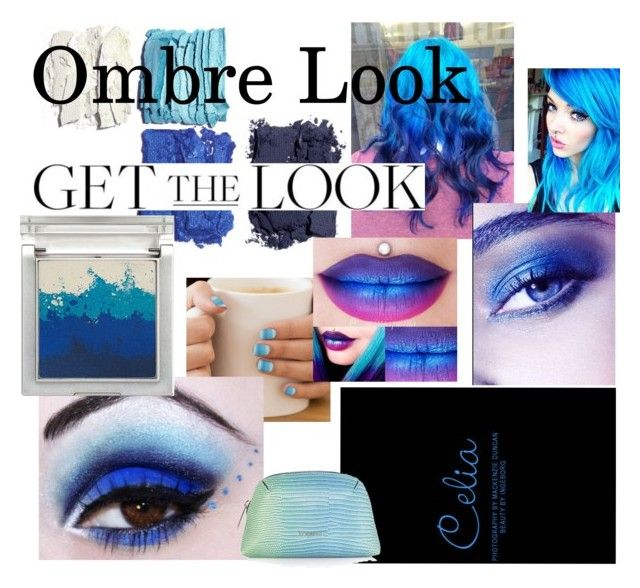 """""""Blue Ombre Look"""" by fashioncopasser ❤ liked on Polyvore featuring beauty, My Little Pony, Illamasqua, Sue Devitt and Topshop"""