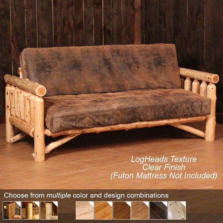 Log Futon | Rustic Futon