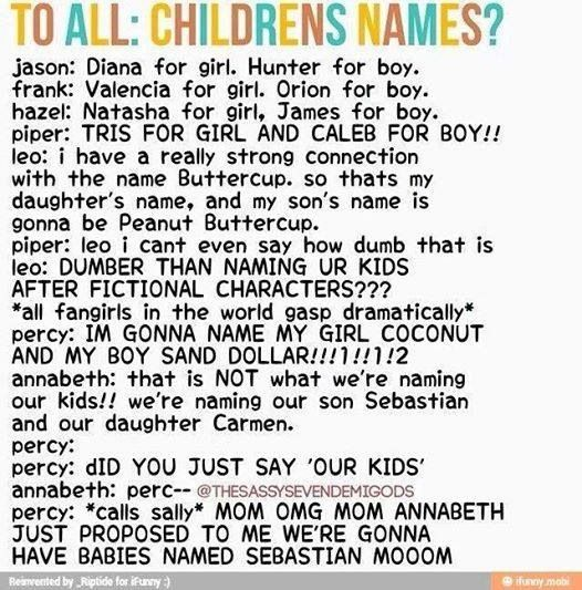 The Seven talk about baby names