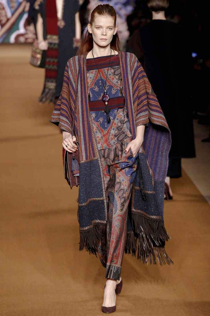 Etro Autumn/Winter 2014-15 Ready-to-Wear Milan Fashion Week