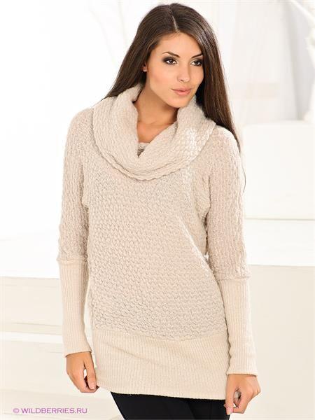 Кремовый свитер